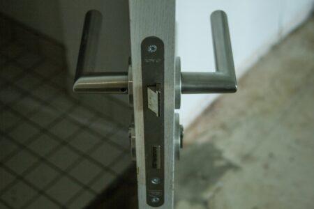 Tür Holzoptik DIN R, 108cm