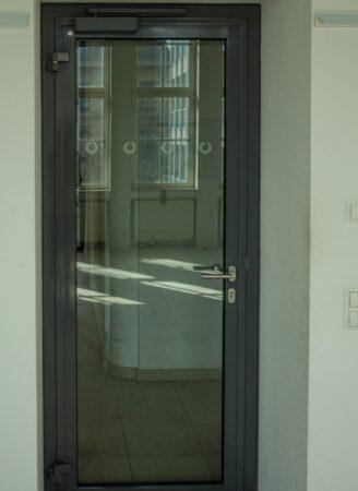 Promat Schallschutztür Stahl DIN R, 97,5cm