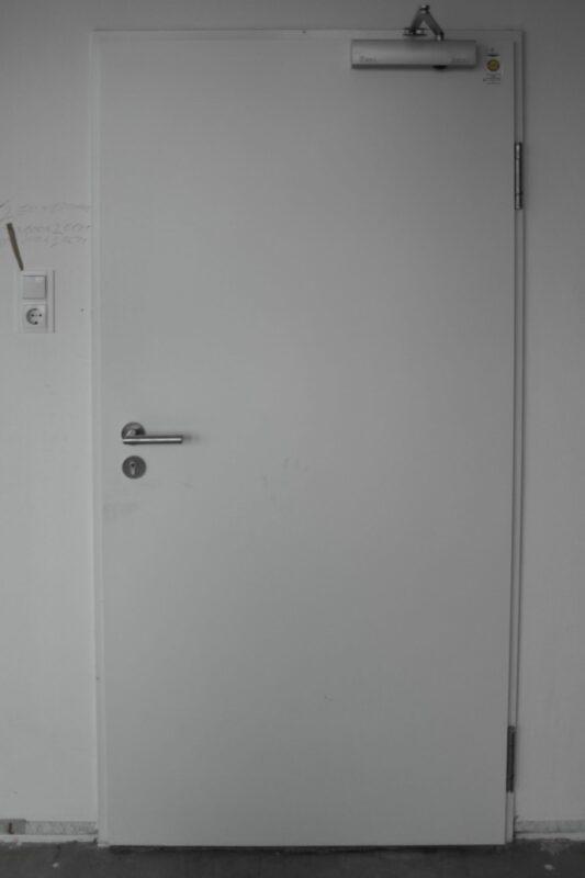 Westag & Getalit Schallschutztür Holz DIN R