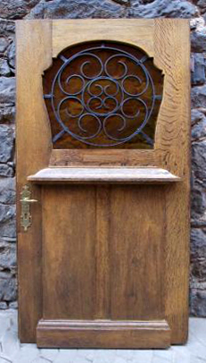 original antike Haustür Jugendstil