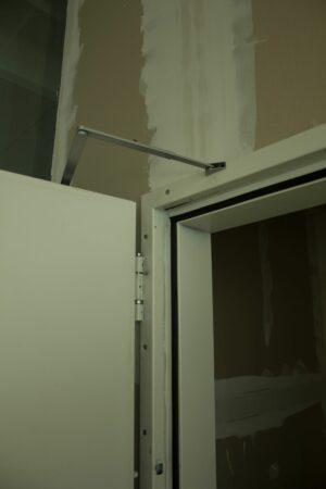 Stahltür weiß DIN L