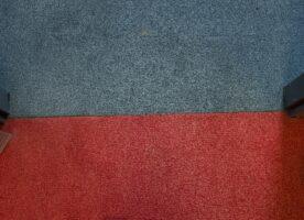 Teppichfließen rot 50x50