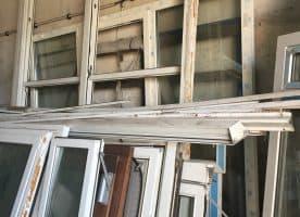 Diverse Fenster u. Rahmen