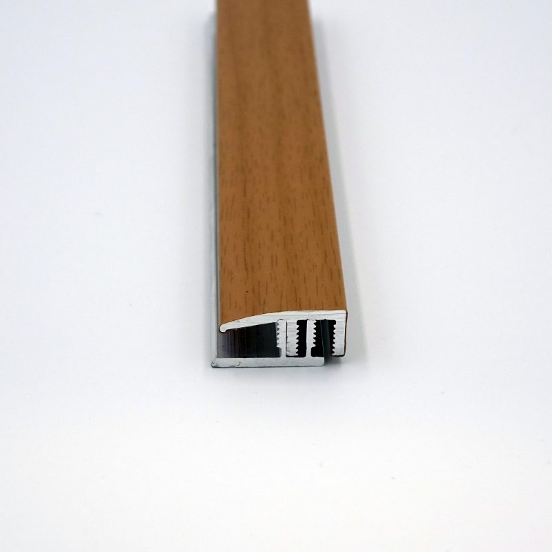 Abschlussprofile Alu 90cm lang, 6-10mm hoch