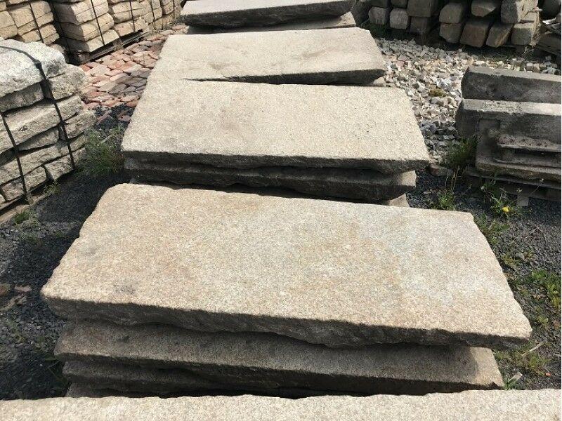 Alte Gredplatten, Granitplatten, Bodenplatten, Antiker Granit