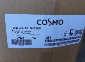 Cosmo Twin Solar Spiralrohr DN 25  14 mm ca. 12 m