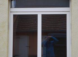 Fenster mit Oberlicht und Zargen