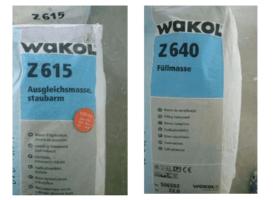 WAKOL Ausgleichsmasse 6 Säcke+ Füllmasse 4 Säcke – Estrich- Boden