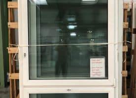 Fenster gebraucht aus Kunststoff, so lange Vorrat reicht