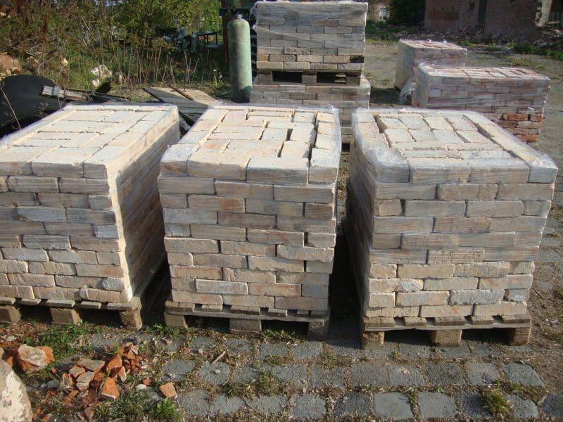 Reichsformat Ziegelsteine Klinker Backsteine Fassade Verblender Mauersteine Gartensteine mediterran