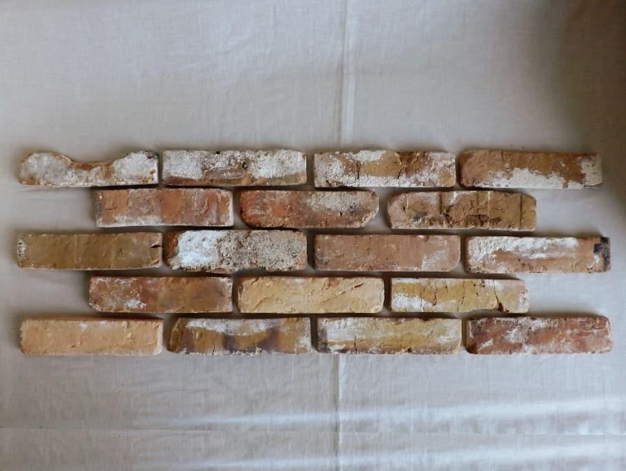 Antikriemchen Steinriemchen mediterran Mauerverblender Ziegelriemchen Mauerziegel antik retro Riemchen Verblender Klinker Ziegel Backstein Fliese