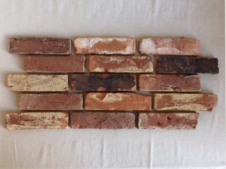 Mosaik Antikriemchen rot, old style