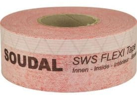 Soudal SWS Flexi Tape Inside 150 mm rot