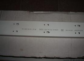 Kabelkanal Protec-class 60x 40mmx 2m, weiß, neu