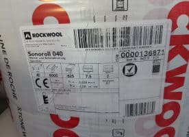 Rockwool Sonoroll 040 625 x 6000 x 40 mm