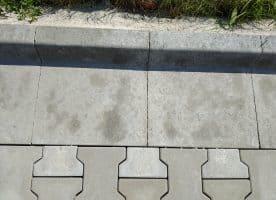 Bordrinnenstein Röckelein für Straßen und Wegebau