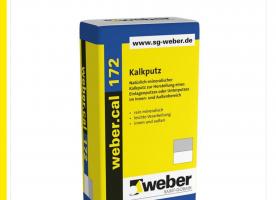 1 Palette Weber.Cal 172 Kalkputz