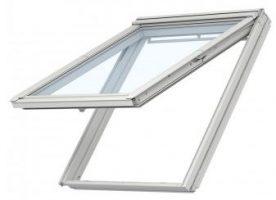 Velux Klapp-Schwing Dachfenster GPU CK04 0066 55x98 cm inkl. Innenfutter (LSB CK04 C04 2000) und Eindeckrahmen (EDZCK04 2000)