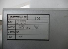 Lüftungsanlage Exhausto VEX 160HR AC