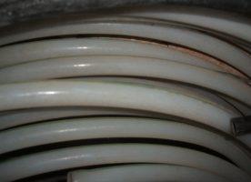 Kabelschutzrohre, glatt, weiß, 38m, 2cm Außendurchmesser, neu