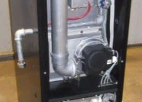 Heizung Warmluft Erzeuger, gasbefeuert, Scharg Öko plus DC 16