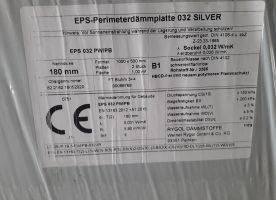 Maxit EPS-Perimeterdämmplatte 032 silver