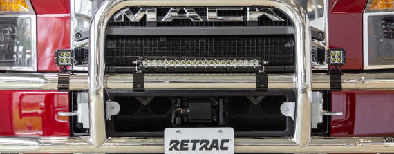 RETRAC Grille Guard Accessories LED Lights