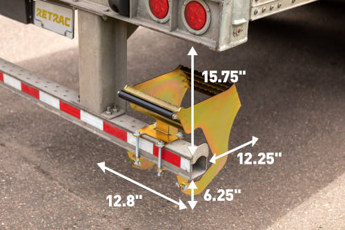 High Rise Semi Box Trailer Step Dimensions Space