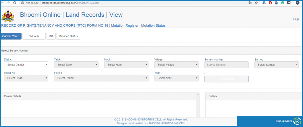 bhoomi online land records