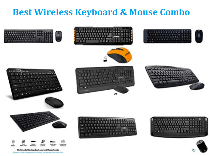 best wireless keyboard & mouse combos in India