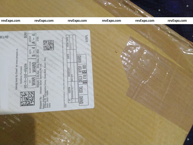 ebee portable table received from cloudtail india