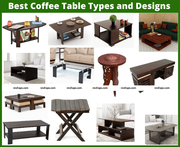 Best Coffee Table Types and Designs