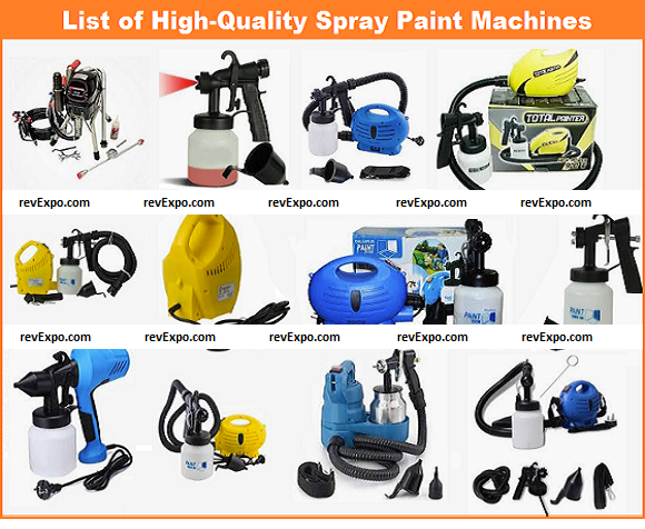 List of best Spray Paint Machines in India