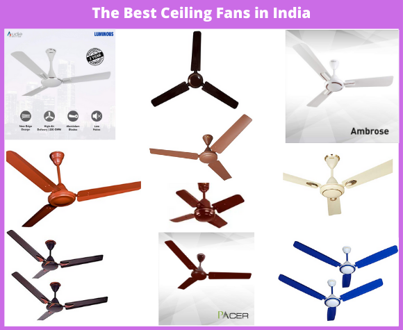 The Best Ceiling Fans in India
