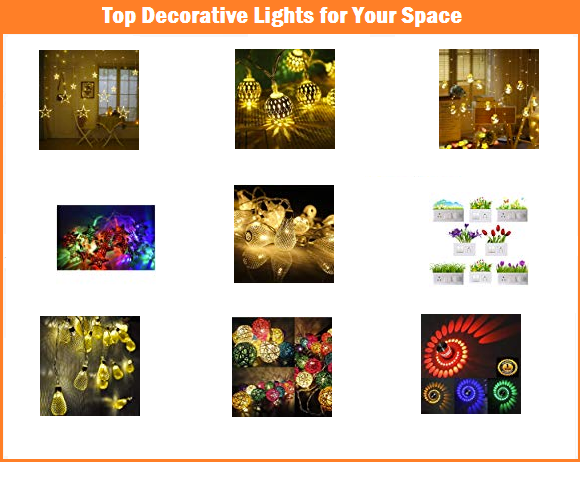 Top Decorative Lights for Your Space