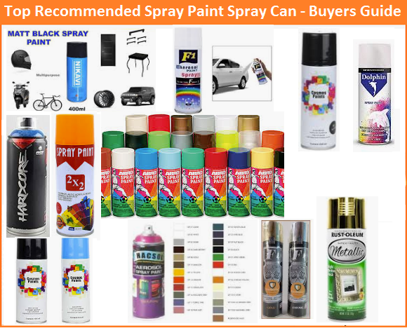 Best Spray Paint Spray Can in India