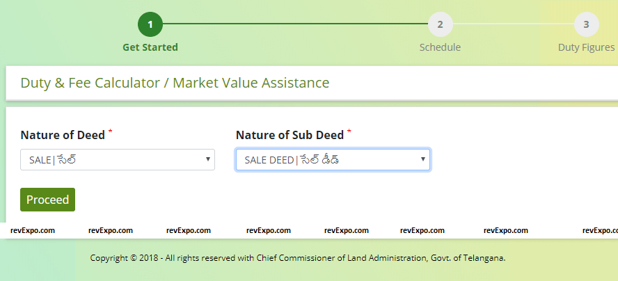 nature of deed details