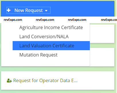 land valuation certificate
