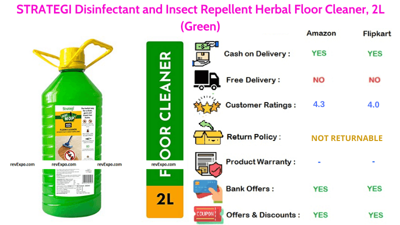 STRATEGI Herbal surface 2L Disinfectant and Insect Repellent