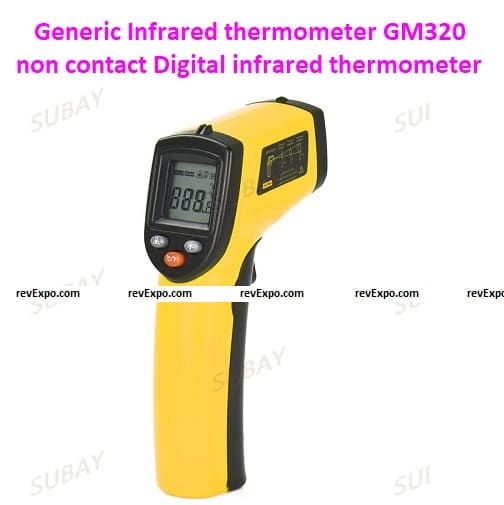 Generic Infrared thermometer GM320 non-contact Digital infrared thermometer