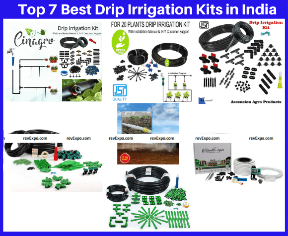 Top 7 Best Drip Irrigation Kits in India