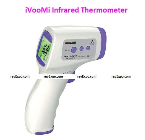 iVooMi Infrared Thermometer (Made in India) with 14 months warranty, FDA/CE Approved, Non Contact Digital Thermometer