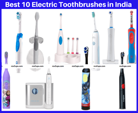 Best 10 Electric Toothbrushes in India