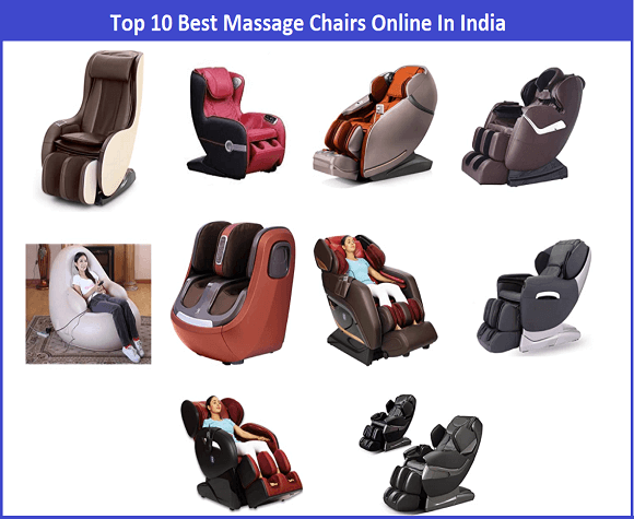 Top 10 best massage chairs online in india