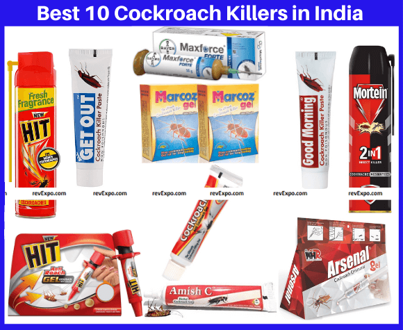 Best Cockroach Killers in India
