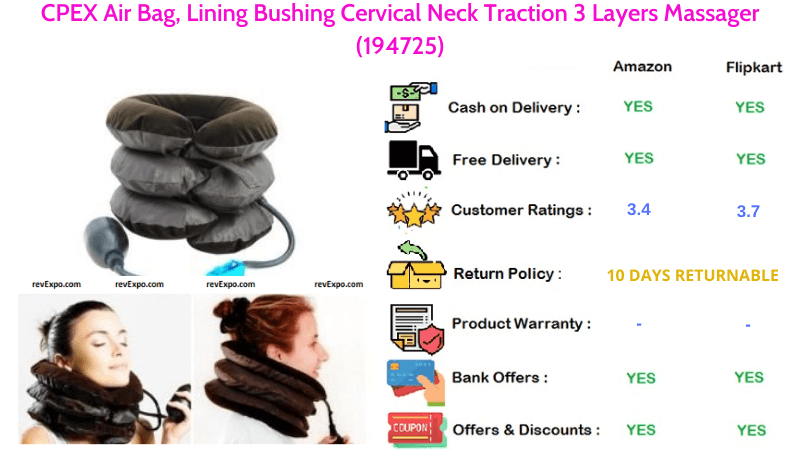 CPEX 3 Layers Massager Air Bag