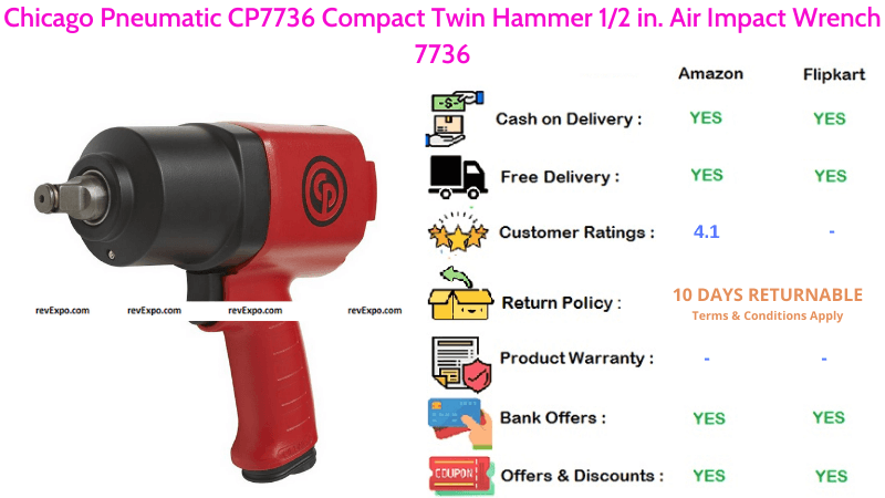 Chicago Air Impact Wrench 7736