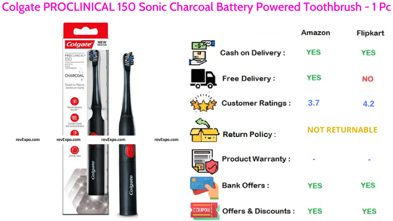 Colgate PROCLINICAL Battery Powered Toothbrush