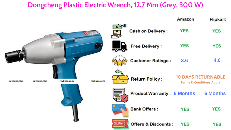 Dongcheng Plastic Electric Impact Wrench