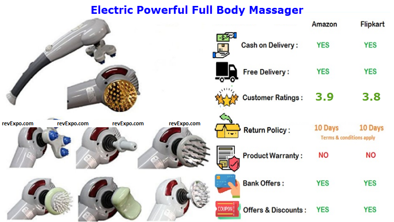 Electric Powerful Full Body Massager